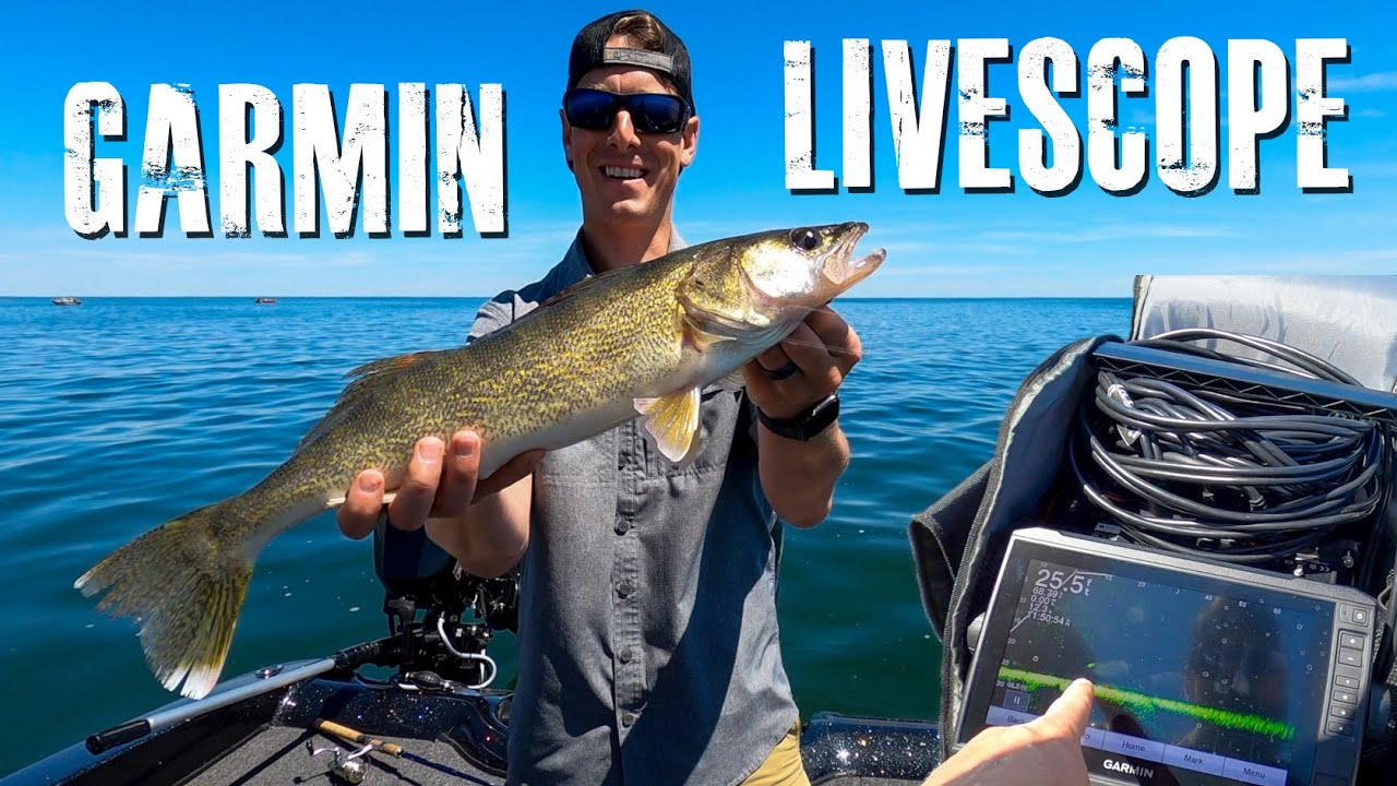 Fishing Game Changer? Walleye Spot and Stalk with Garmin LiveScope Ice Bundle | Steve Gould