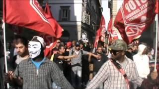 Firenze 17.5.14 Manifestazione contro il governo Renzi