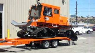 Unloading A Tucker Sno-Cat