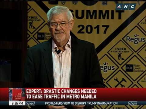 Expert: Drastic changes needed to ease traffic in Metro Manila