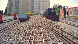Führerstandsmitfahrt auf der Gartenbahn 5 Zoll und 7 ¼ Zoll Eisenbahn beim Dampfbahn Club Taunus