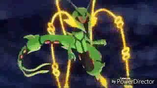 Mega Rayquaza vs Arceus
