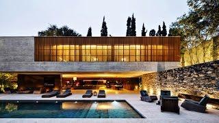 Stunning Minimalist Modern Contemporary Luxury Residence in São Paulo, Brazil (by Studio MK27)