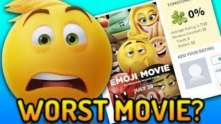The Emoji Movie is The LOWEST RATED Animated Film Of All Time