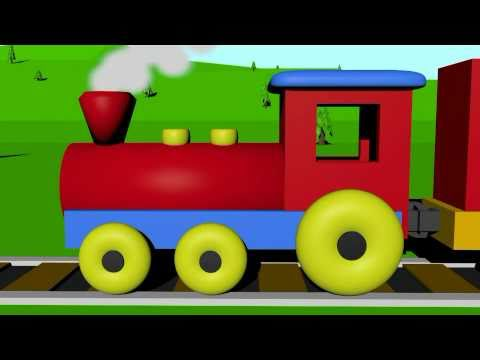 Thumbnail: Learn colors with the color train for kids!