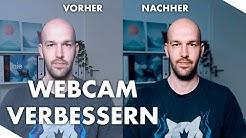 Webcamqualität verbessern - Wie du die Qualität von deiner Webcam verbesserst