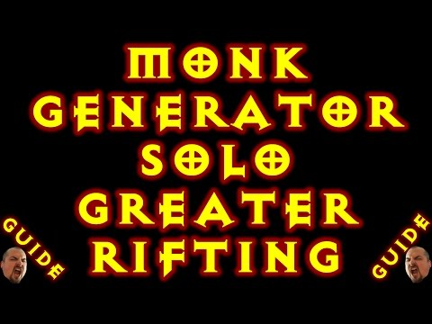 Diablo 3 Monk Generator Solo Gr Build! 2.5.0