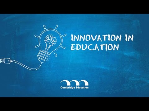 Innovation in Education - Cambridge Education