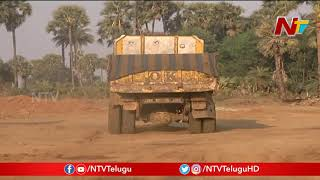 Officials Fail To Control Illegal Sand Mining At Krishna District | NTV