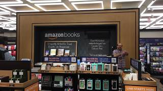 New York City's First Amazon Bookstore in  Time Warner Center