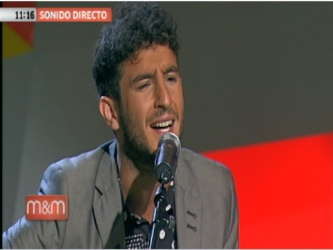Carlos Torres, finalista de La Voz, primera actuación en Canal Sur (2015)