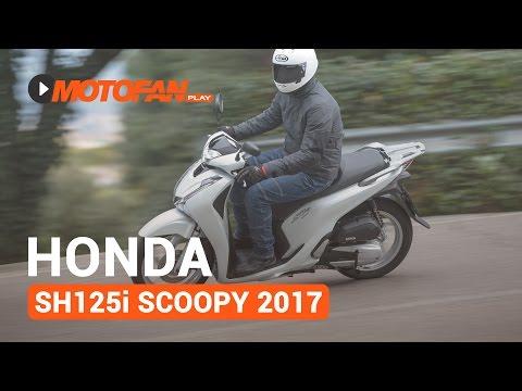 Honda SH125i Scoopy 2017