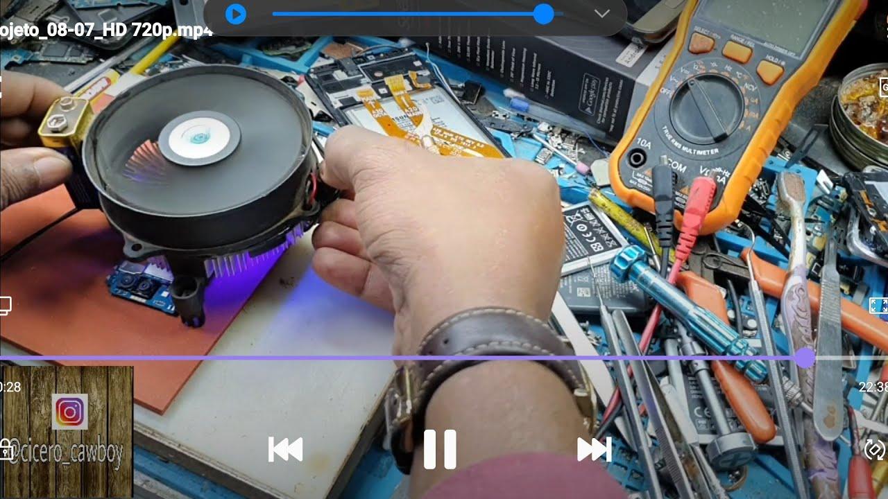 A20 NÃO  RECONHECIA OS CHIP: FALHA NA CPU.
