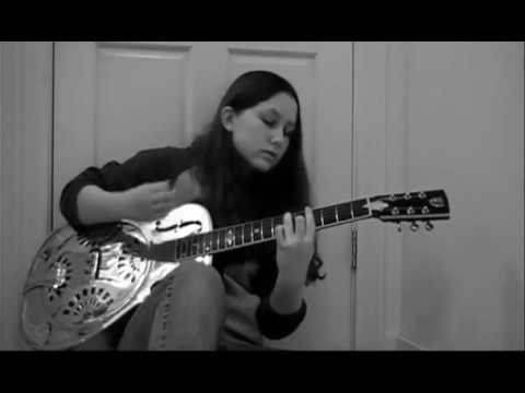 Stormy Monday by 14 year old Alicia Marie on Guitar/Vocals