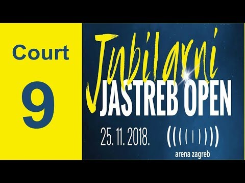 20th JASTREB OPEN - CUP OF THE AMBASSADOR OF THE REPUBLIC OF KOREA - COURT 9