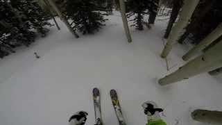Gopro 4th cool skiing video Park City March 2014 powder day Thumbnail