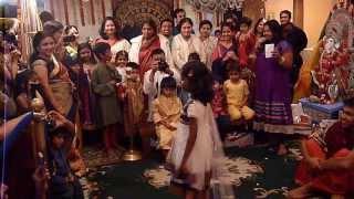 Kids Fashion Show @ Fremont Temple Durga Puja - 2013