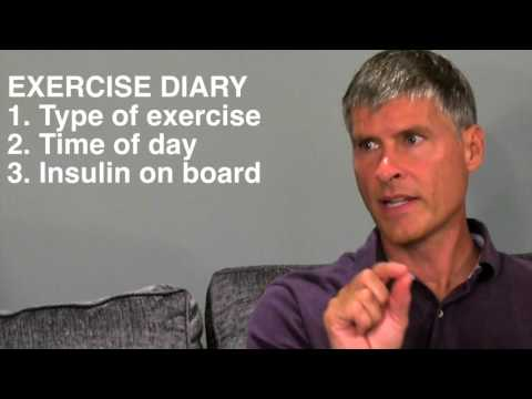 Type 1 diabetes Exercise Basics with Mike Riddell, Ph.D., author of Getting Pumped!