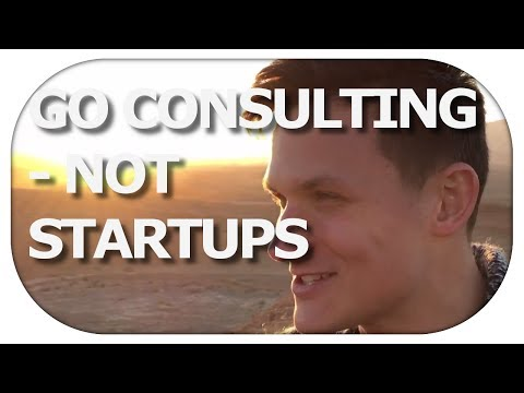 CONSULTING vs STARTUPS | Career choices guidance (Israel VLOG Part 3/3)
