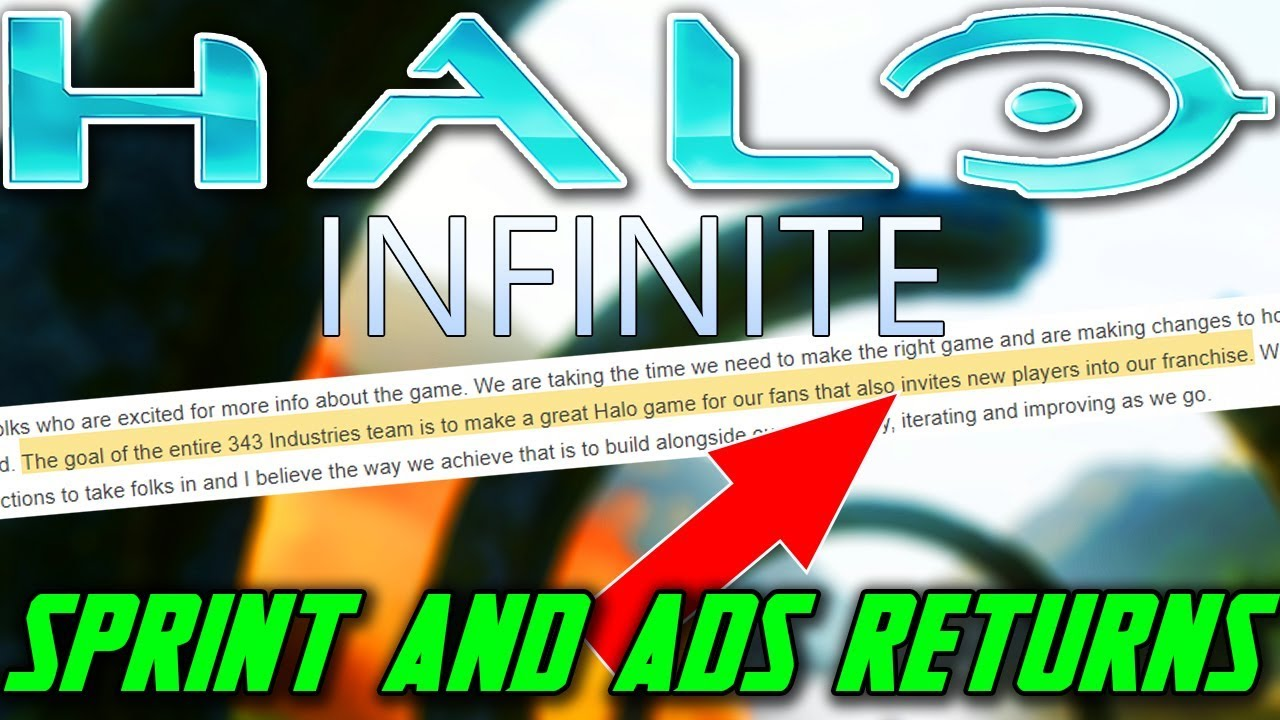 Sprint and ADS Returns In Halo Infinite? Why 343 Industries Quote Has People Worried! thumbnail
