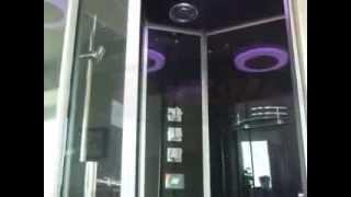 Видео-обзор гидромассажного бокса EAGO DZ955F8R (www.santehimport.com)