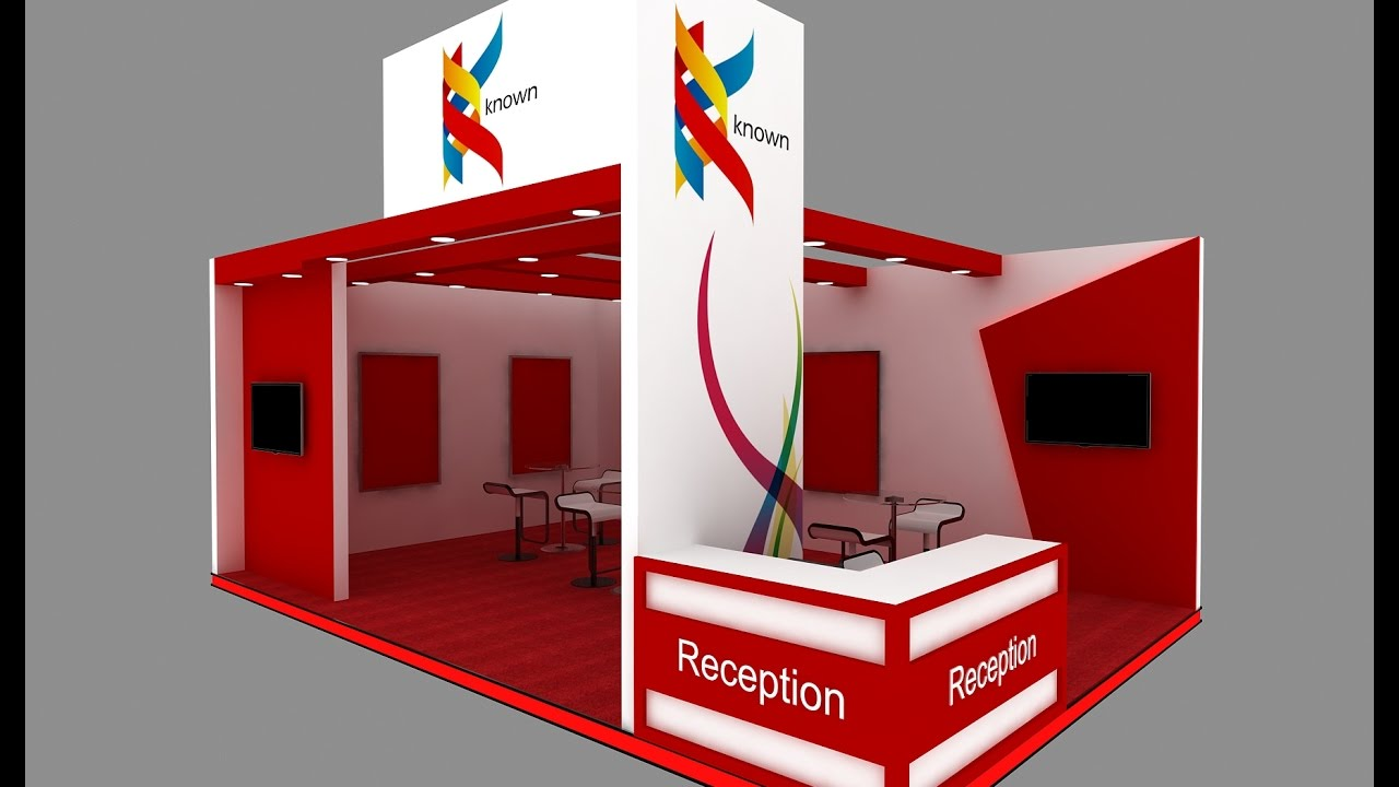 Exhibition Stand Design Free Software : Exhibition stand design tutorial youtube
