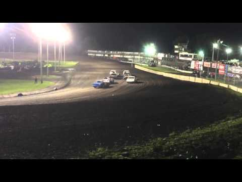 Boone Speedway Stock Car Heat Race #1 5-7-16