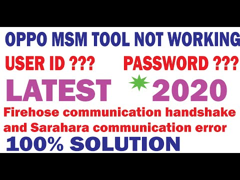 Download Oppo Msm Download Tool Cracked For Lifetime 2019 All Model