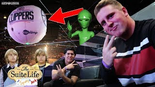 WE LIVED THE SUITE LIFE AT AN INTENSE CLIPPERS GAME! | Kleschka Vlogs
