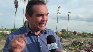 RUSSAS - Vereador Júnior Martins denuncia abandono na Zona Rural do Município.