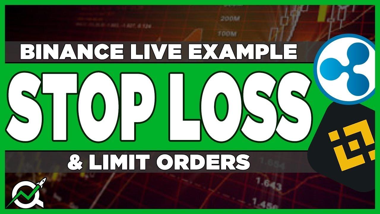 binance stop limit mobile