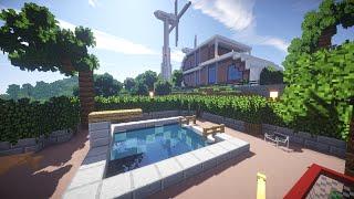 РАЙСКИЙ ОТДЫХ в майнкрафт - Бассейн в доме - Серия 37 - Minecraft - Строительный креатив 2(Строим и обустраиваем райский островок! Этот сезон обещает быть жарким! Я в VK: http://vk.com/unfiny Группа в VK: http://vk.co..., 2015-12-10T08:00:01.000Z)