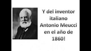 Repeat youtube video ¿Quién inventó el teléfono en realidad? ¿Alexander Graham Bell ? Conoce la verdad