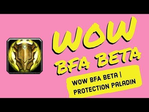 wow bfa beta protection paladin most versatile tank youtube. Black Bedroom Furniture Sets. Home Design Ideas