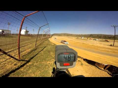 Dog Hollow Speedway - 4/16/16 Pure Stocks Practice Session #7