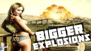 Fallout 4: Mega Explosions Mod (Bigger BOOM)