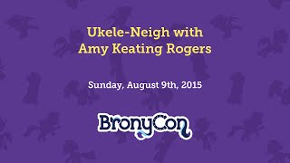 Ukele-Neigh with Amy Keating Rogers