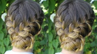 Beautiful Soft Braided Updo | Braided Styles | Braidsandstyles12