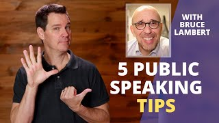 Effective Public Speaking Techniques with Bruce Lambert
