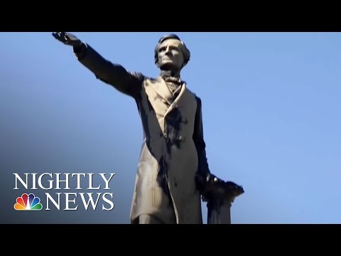 New Orleans Is Removing Confederate Monuments Despite Threats | NBC Nightly News