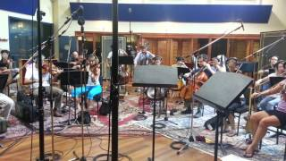 "Soodhu Kavvum Recording Session at ""The Studio Orchestra of Sydney"""