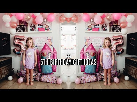 5 YEAR OLD GIFT IDEAS   WHAT MY 5 YEAR OLD GOT FOR THEIR BIRTHDAY
