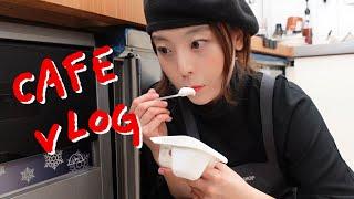 [cafe vlog] 디저트카페사장의 자영업윗미 / 대…