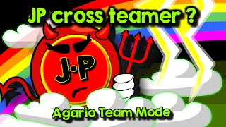 Agario Team Mode VLOG #2 - How I became a cross teamer