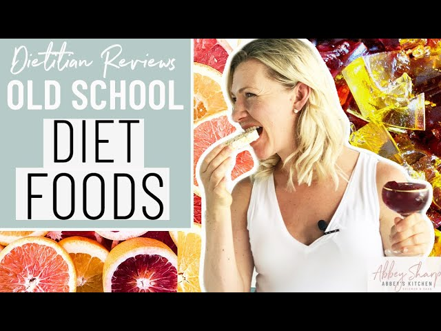 Dietitian Reviews Classic Diet Foods (Grapefruit, Rice Cakes, Cottage Cheese, Jello, Granola)
