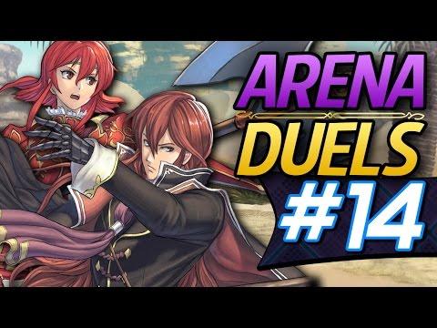 Fire Emblem Heroes: Online Arena Duels #14 - Michalis's Flier Emblem Squad! (Advanced Difficulty)