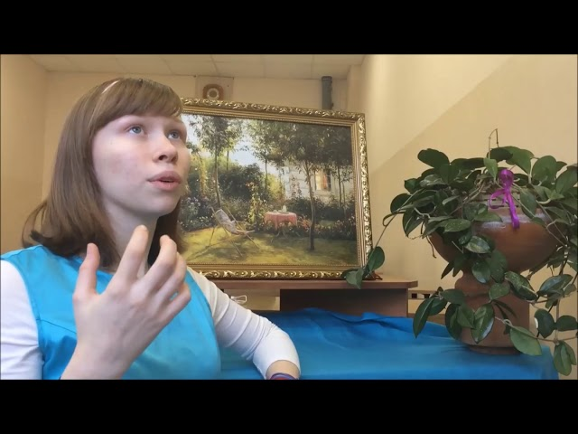 Изображение предпросмотра прочтения – ЭльзаБурова читает произведение «Только девочка» М.И.Цветаевой