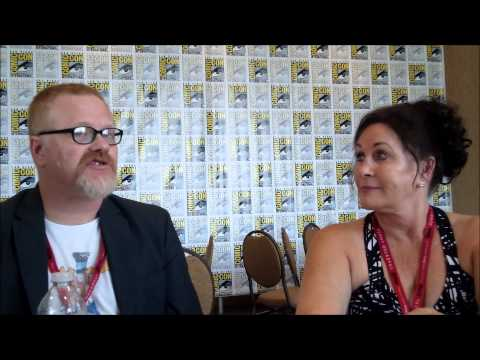 Rocky and Bullwinkle Q&A with Gary Trousdale & Tify Ward SDCC 2014