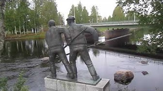 WALKING NEAR KERUBI RESTAURANT IN JOENSUU FINLAND GOOD NATURAL WEATHER