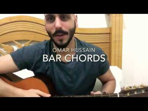 how to play bar chords